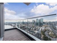 STUNNING 1 BEDROOM FLAT WITH BALCONY,CONCIERGE, GYM IN CHARRINGTON TOWER, BISCAYNE AVENUE, LONDON D0