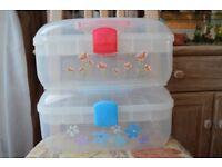 Storage Cases x2