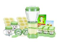 Brand New NutriBullet Baby Food Blender with date markers