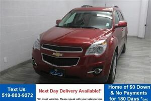 2014 Chevrolet Equinox LT w/ LEATHER! NAVIGATION! SUNROOF! HEATE
