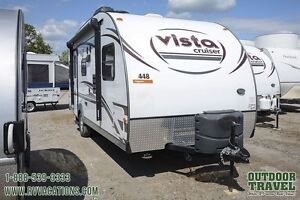 2015 Gulf Stream Vista Cruiser 19DSR Travel Trailer