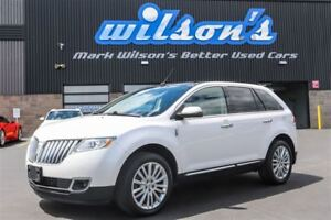 2011 Lincoln MKX 3.7L V6 AWD! LEATHER! NAVIGATION! SUNROOF! HEAT