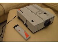 Slide Projector, Reflecta Diamator 35mm with case and remote control.