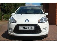 Citreon C3, 2012, 1.6 e-HDi Airdream Exclusive 5 door, White