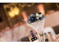 Large Martini Glasses (set of 5) - Wedding/table centrepieces