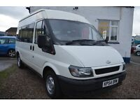 2004 Ford TRANSIT 300 MWB MINI BUS 9 seat in GOOD Condition with MOT Until 2018 FEBRUARY