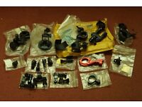 Variety of different mounts for camcorders, cameras & sports / action cams.