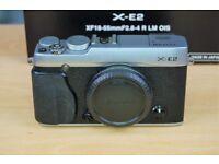 Fujifilm X-E2 Digital Camera Body with QR Hand Grip Boxed