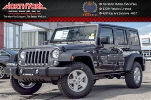 2017 Jeep WRANGLER UNLIMITED New Car Sport|4x4|Connect,ColdWthr,