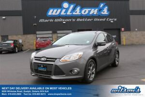 2013 Ford Focus SE HATCHBACK! LEATHER! NAV! SUNROOF! TOUCH SCREE