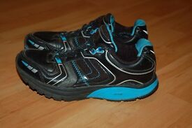 Black-Blue Womens Shoes Trainers size uk 5