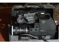 Sony Trinicon HVC-4000P colour video cameras
