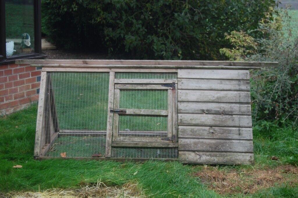 Wooden Chicken Ark Coop In Good Condition In Diss Norfolk Gumtree
