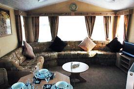 Butlins Platinum 8 berth caravan for hire.DVD TV's all rooms,xbox,wash mech and dryer, sound bar etc