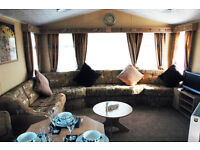 Butlins Platinum 8 berth caravan for hire.DVD TV's all rooms,xbox,wash mech and dryer, sound bar etc