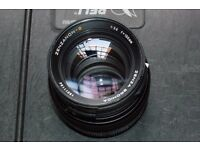 150 mm Bronica SQ lens.