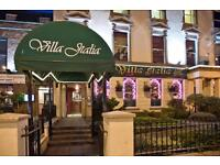 Villa Italia/Scalini Chef wanted****