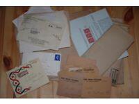 Social History Telegrammes National Health Insurance slip letters 1934 - 1945