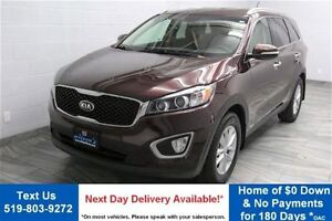 2016 Kia Sorento 2.4L LX AWD w/ HEATED SEATS! PARKING SENSORS! A