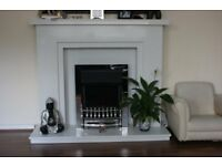 Fire Surround with Hearth
