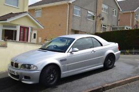 BMW E46 M3 Convertible 2002 (94300 miles)