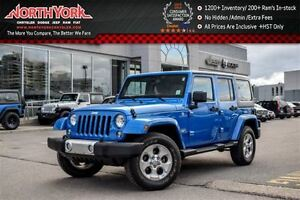 2015 Jeep WRANGLER UNLIMITED Sahara 4x4|Manual|1-Owner|Connect,P