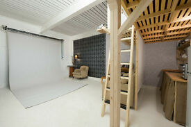 Photography Studio to Share with other 4 Photographers in Stoke Newington.1 space left