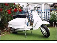 Stunningly restored 1967 Italian Lambretta Li 125