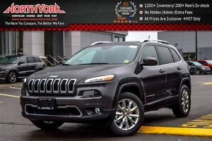 2017 Jeep Cherokee Limited 4X4|Nav|Luxury Pkg.|Pano_Sunroof|Leat