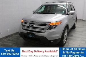 2013 Ford Explorer LIMITED 4WD w/ NAVIGATION! LEATHER! PANORAMIC