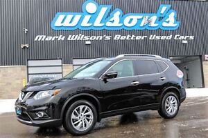 2014 Nissan Rogue SL AWD! LEATHER! NEW BRAKES! NAVIGATION! PANO