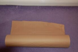 Bulk Roll of Brown Wrapping Paper £4