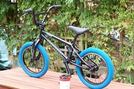 BMX Haro Downtown 16 suit 5-8 year old.