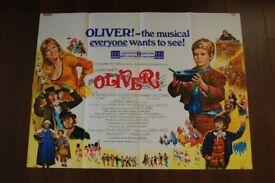 oliver ' original 1960 s cinema poster