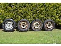 Transporter T5 2008 Wheels and Tyres