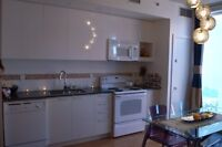 Beautifully decorated and cozy NEW Old-Montreal condo FURNISHED