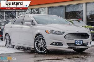 2013 Ford Fusion SE/LEATHER/NAVI/WHITE/ONE OWNER