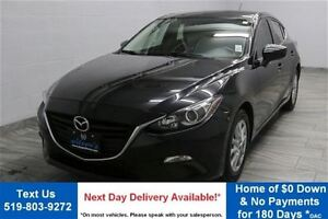 2014 Mazda MAZDA3 SPORT GS-SKYACTIV! 6-SPEED HATCHBACK! REVERSE