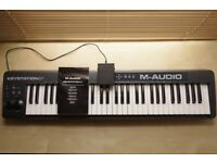 Midi Keyboard- M-Audio Keystation 61 + FREE Yamaha Sustain Pedal
