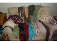 LADIES SCARVES X 15 AS PHOTO SELLING AS ONE LOT