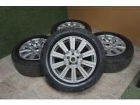 "Genuine Land Rover 19"" Alloy wheels 5x120 Range Rover VW T5 Alloys Silver L322 P38 Discovery 4"