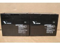 Mobility scooter battery - batteries - Vision 75Ah x 2 (tested)