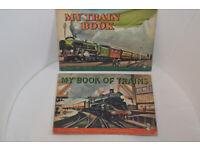 Two train books