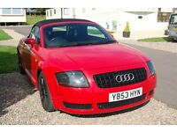 audi tt swap or sell or take cheap partex .