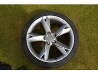 "19"" GENUINE AUDI A5 ALLOY WITH LEGAL TYRE"