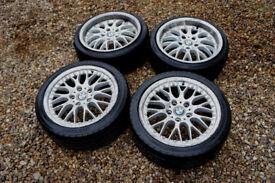 "Genuine BMW 17"" Style 42 Alloy wheels 5x120 3 Series E36 E46 Z3 Z4 Alloys"