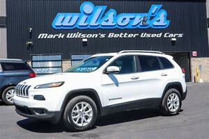 2014 Jeep Cherokee NORTH AWD! NAVIGATION! HEATED STEERING+SEATS!