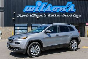 2016 Jeep Cherokee $104/WK, 5.49% ZERO DOWN! LIMITED 4X4 LEATHER