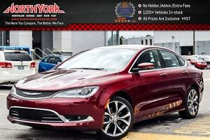 2016 Chrysler 200 C|PanoSunroof|Nav|AlpineSpkrs|R-Start|BackupCa