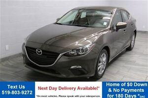 2014 Mazda MAZDA3 GS-SKYACTIV! 6-SPEED SEDAN! REVERSE CAMERA! AL